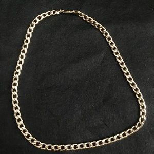 Jewelry - 14k gold dipped costume jewelry necklace